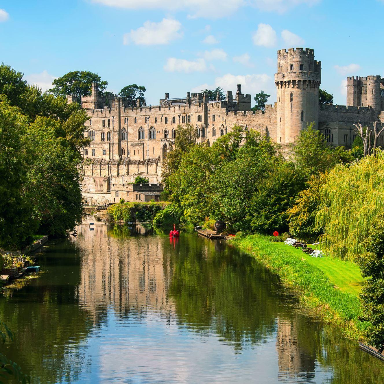 Warwick Castle grounds